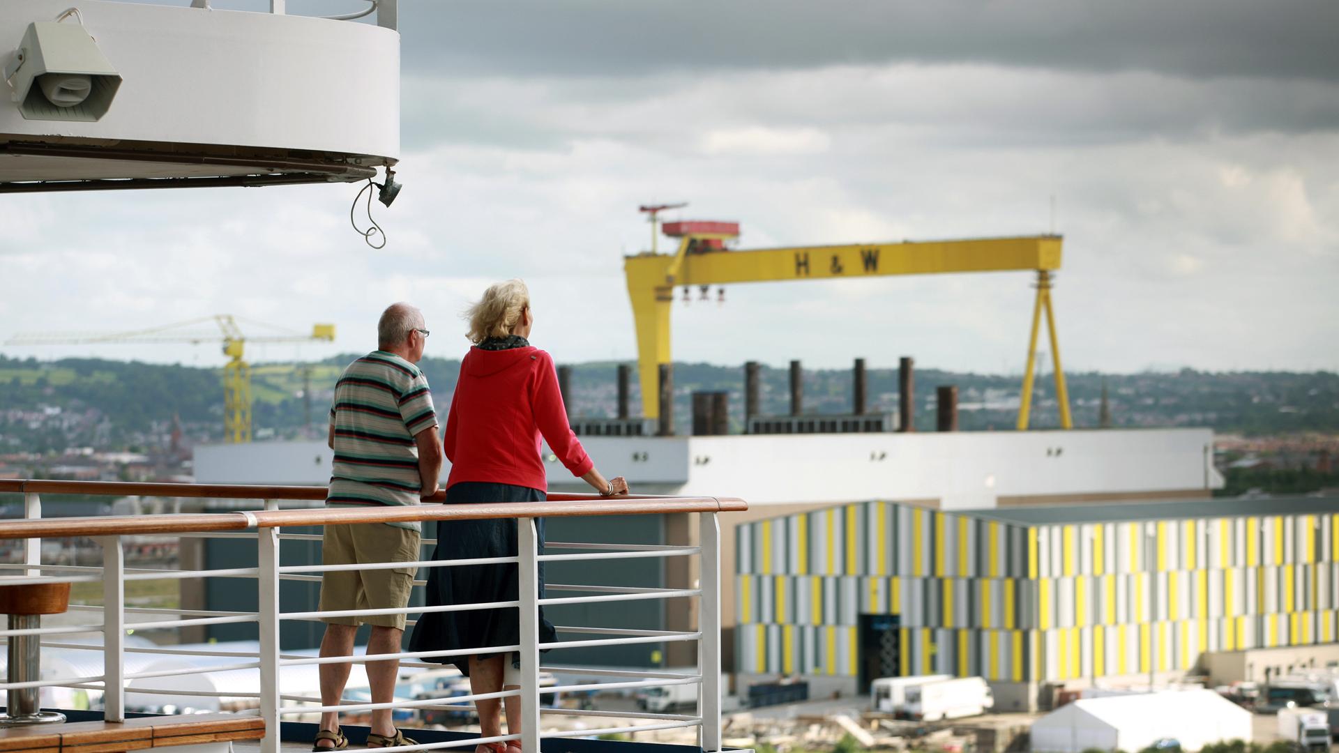 Cruise Passengers Titanic Quarter